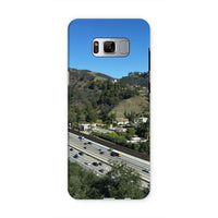 City In Mountains Highway Phone Case Samsung S8 / Tough Gloss & Tablet Cases