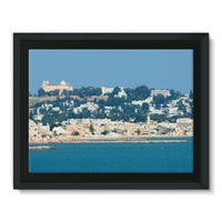 City Of Tunis From The Sea Framed Canvas 16X12 Wall Decor