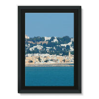 City Of Tunis From The Sea Framed Canvas 24X36 Wall Decor