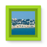 City Of Tunis From The Sea Magnet Frame Green Homeware