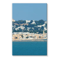 City Of Tunis From The Sea Stretched Eco-Canvas 24X36 Wall Decor