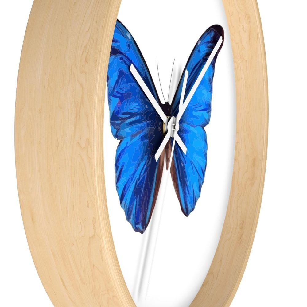 Beautiful Blue Butterfly Wall Art Mold - Art & Wall Decor ...
