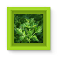 Close Picture Of Parsley Magnet Frame Green Homeware