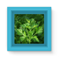 Close Picture Of Parsley Magnet Frame Light Blue Homeware