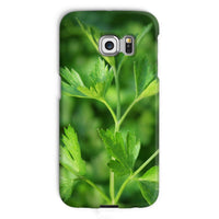 Close Picture Of Parsley Phone Case Galaxy S6 Edge / Snap Gloss & Tablet Cases
