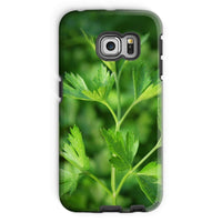 Close Picture Of Parsley Phone Case Galaxy S6 Edge / Tough Gloss & Tablet Cases