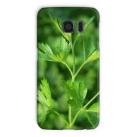 Close Picture Of Parsley Phone Case Galaxy S6 / Snap Gloss & Tablet Cases