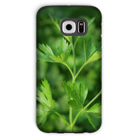 Close Picture Of Parsley Phone Case Galaxy S6 / Tough Gloss & Tablet Cases