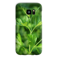 Close Picture Of Parsley Phone Case Galaxy S7 / Snap Gloss & Tablet Cases