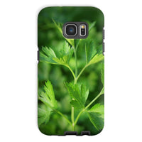 Close Picture Of Parsley Phone Case Galaxy S7 / Tough Gloss & Tablet Cases