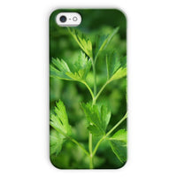 Close Picture Of Parsley Phone Case Iphone 5C / Snap Gloss & Tablet Cases