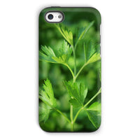 Close Picture Of Parsley Phone Case Iphone 5C / Tough Gloss & Tablet Cases