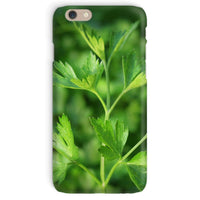 Close Picture Of Parsley Phone Case Iphone 6 / Snap Gloss & Tablet Cases