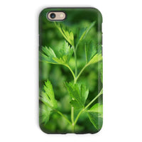 Close Picture Of Parsley Phone Case Iphone 6 / Tough Gloss & Tablet Cases