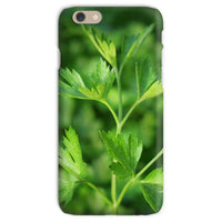 Close Picture Of Parsley Phone Case Iphone 6S / Snap Gloss & Tablet Cases