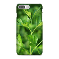 Close Picture Of Parsley Phone Case Iphone 8 Plus / Snap Gloss & Tablet Cases