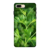 Close Picture Of Parsley Phone Case Iphone 8 Plus / Tough Gloss & Tablet Cases