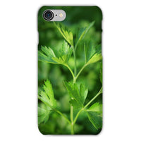 Close Picture Of Parsley Phone Case Iphone 8 / Snap Gloss & Tablet Cases