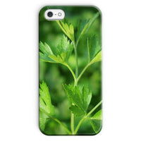 Close Picture Of Parsley Phone Case Iphone Se / Snap Gloss & Tablet Cases