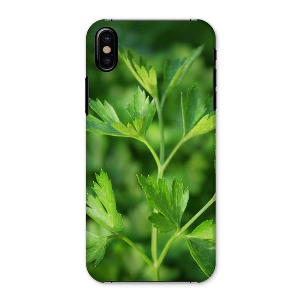 Close Picture Of Parsley Phone Case Iphone X / Snap Gloss & Tablet Cases