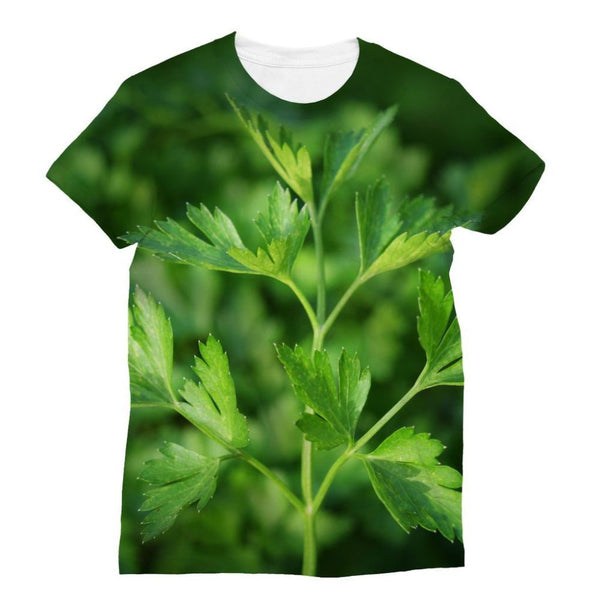 Close Picture Of Parsley Sublimation T-Shirt S Apparel