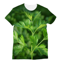 Close Picture Of Parsley Sublimation T-Shirt Xs Apparel