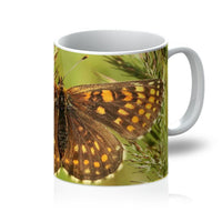 Close Up Of A Colourful Moth Mug 11Oz Homeware