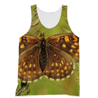 Close Up Of A Colourful Moth Sublimation Vest Xs Apparel