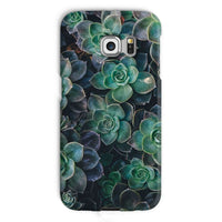 Close-Up Of Green Flowers Phone Case Galaxy S6 Edge / Snap Gloss & Tablet Cases