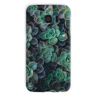 Close-Up Of Green Flowers Phone Case Galaxy S6 / Snap Gloss & Tablet Cases