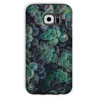 Close-Up Of Green Flowers Phone Case Galaxy S6 / Tough Gloss & Tablet Cases