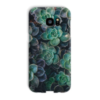 Close-Up Of Green Flowers Phone Case Galaxy S7 Edge / Snap Gloss & Tablet Cases