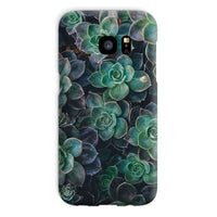 Close-Up Of Green Flowers Phone Case Galaxy S7 / Snap Gloss & Tablet Cases