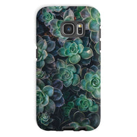 Close-Up Of Green Flowers Phone Case Galaxy S7 / Tough Gloss & Tablet Cases