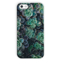 Close-Up Of Green Flowers Phone Case Iphone 5C / Snap Gloss & Tablet Cases