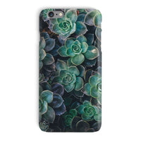 Close-Up Of Green Flowers Phone Case Iphone 6 Plus / Snap Gloss & Tablet Cases