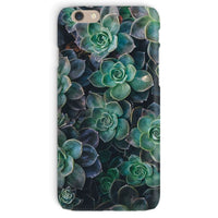 Close-Up Of Green Flowers Phone Case Iphone 6 / Snap Gloss & Tablet Cases