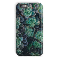 Close-Up Of Green Flowers Phone Case Iphone 6S Plus / Tough Gloss & Tablet Cases