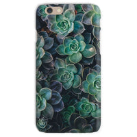 Close-Up Of Green Flowers Phone Case Iphone 6S / Snap Gloss & Tablet Cases