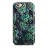 Close-Up Of Green Flowers Phone Case Iphone 6S / Tough Gloss & Tablet Cases
