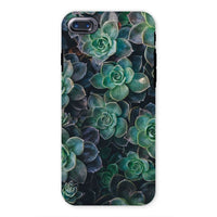 Close-Up Of Green Flowers Phone Case Iphone 7 / Tough Gloss & Tablet Cases
