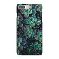 Close-Up Of Green Flowers Phone Case Iphone 8 Plus / Snap Gloss & Tablet Cases