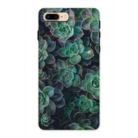 Close-Up Of Green Flowers Phone Case Iphone 8 Plus / Tough Gloss & Tablet Cases