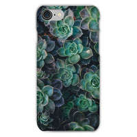Close-Up Of Green Flowers Phone Case Iphone 8 / Snap Gloss & Tablet Cases
