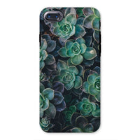 Close-Up Of Green Flowers Phone Case Iphone 8 / Tough Gloss & Tablet Cases