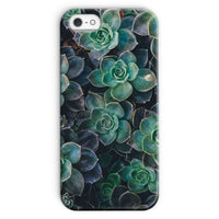 Close-Up Of Green Flowers Phone Case Iphone Se / Snap Gloss & Tablet Cases
