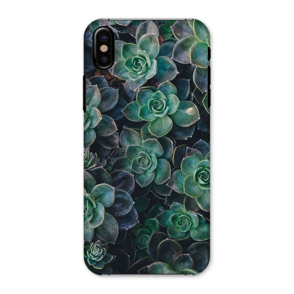 Close-Up Of Green Flowers Phone Case Iphone X / Snap Gloss & Tablet Cases