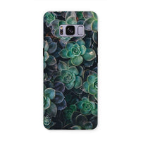 Close-Up Of Green Flowers Phone Case Samsung S8 Plus / Tough Gloss & Tablet Cases