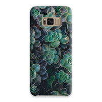 Close-Up Of Green Flowers Phone Case Samsung S8 / Snap Gloss & Tablet Cases