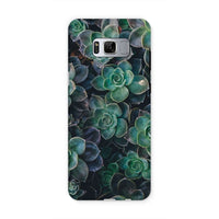 Close-Up Of Green Flowers Phone Case Samsung S8 / Tough Gloss & Tablet Cases